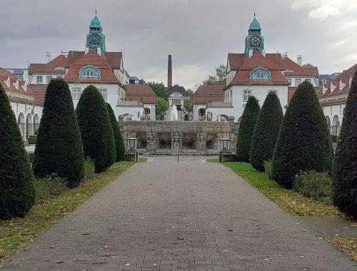 Bad Nauheim Sprudelhof Großer Sprudel