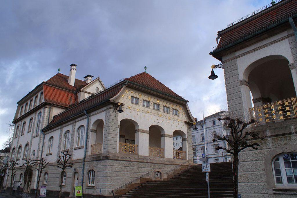 Bad Nauheim Sprudelhof Verwaltungsgebäude Jugendstil