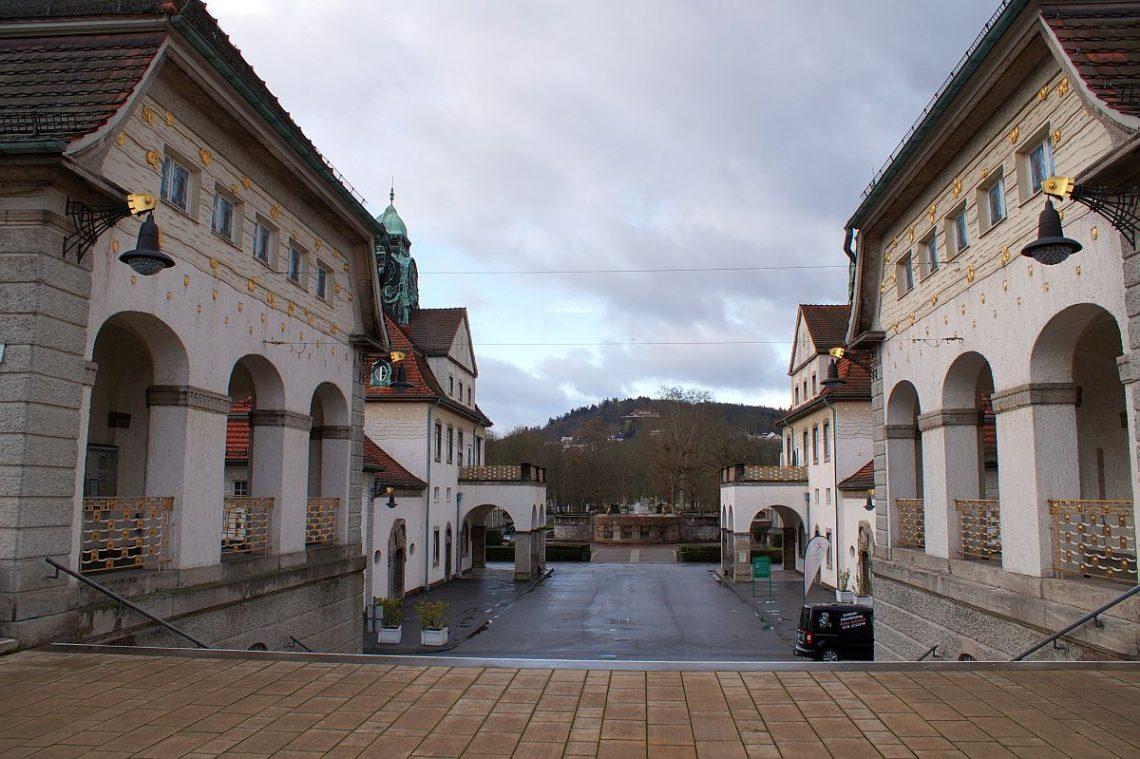 Bad Nauheim Sprudelhof Jugendstil