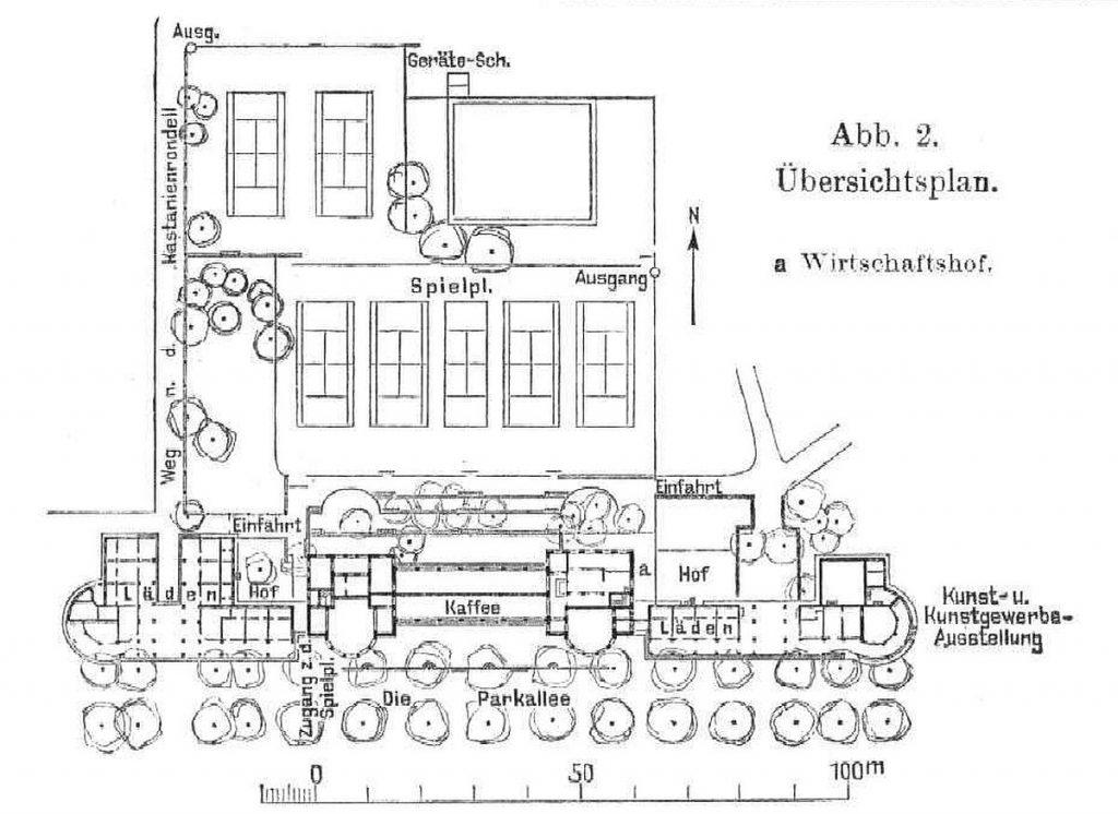 Übersichtsplan Kolonnaden Bad Nauheim