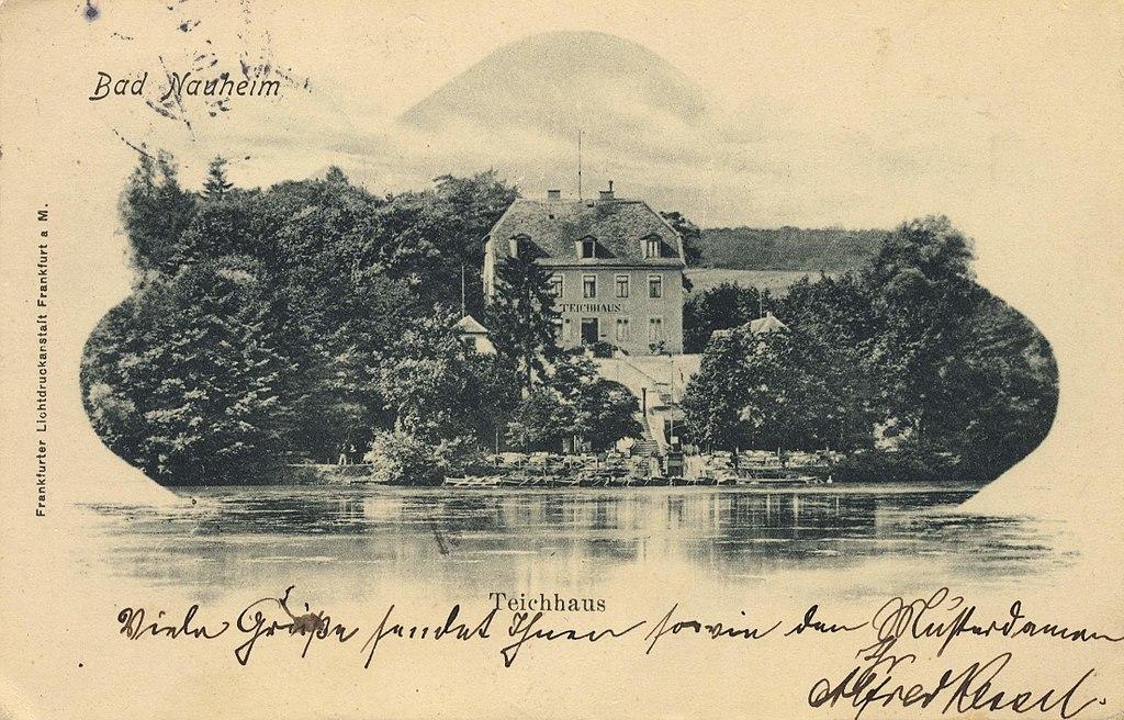 Teichhaus Kurpark Bad Nauheim