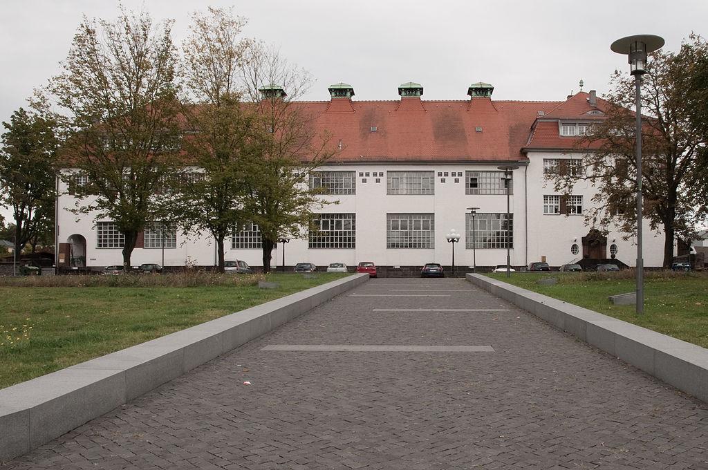Dampfwaschanstalt Bad Nauheim technische Gebäude