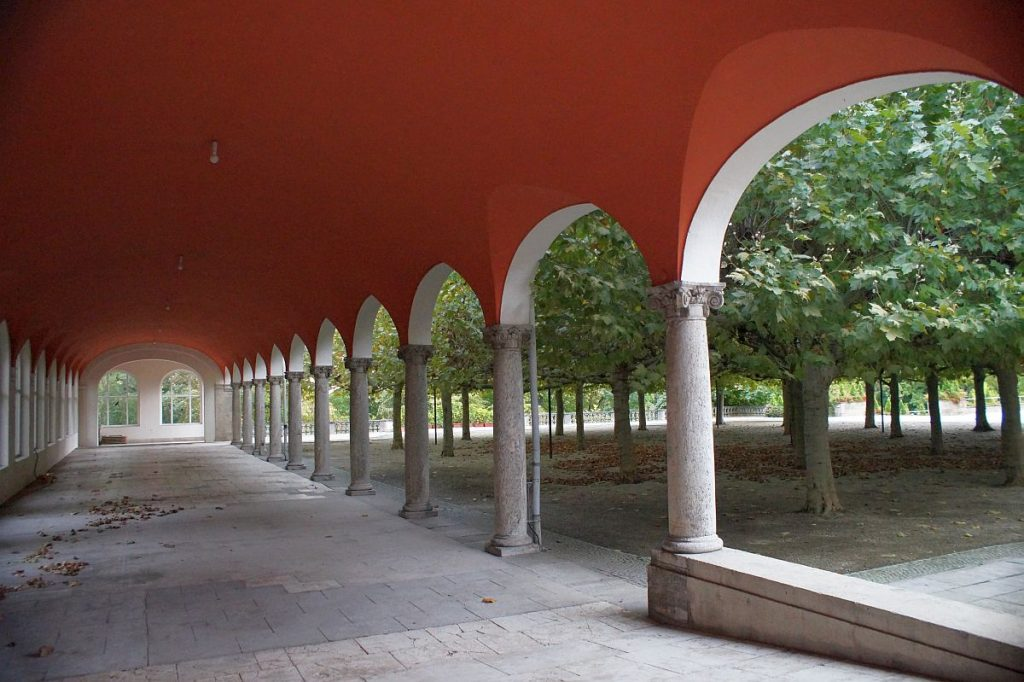 Flüstergalerie und Konzertgarten Kurhaus Bad Nauheim