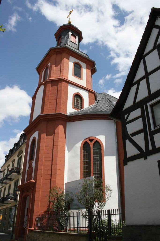 Reinhardskirche Bad Nauheim  Altstadt und Innenstadt