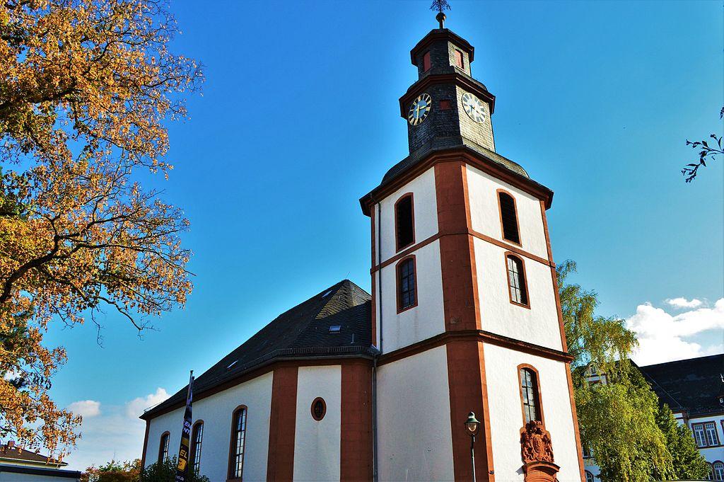 Wilhelmskirche Bad Nauheim Altstadt und Innenstadt