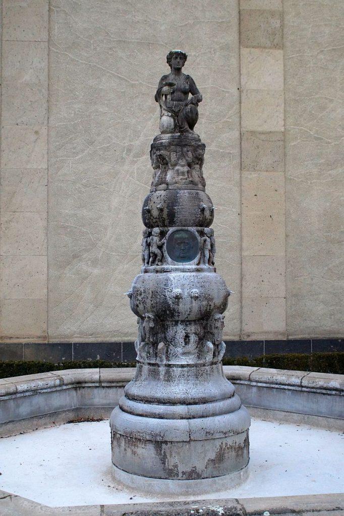Beneke-Brunnen Bad Nauheim am Kerckhoff-Institut