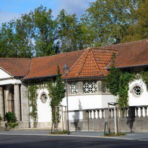 Eingang Trinkkuranlage Bad Nauheim Ernst-Ludwig-Ring