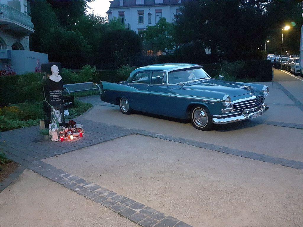 Elvis Stele Bad Nauheim Elvis-Presley-Platz Bad Nauheimer Geschichte(n)