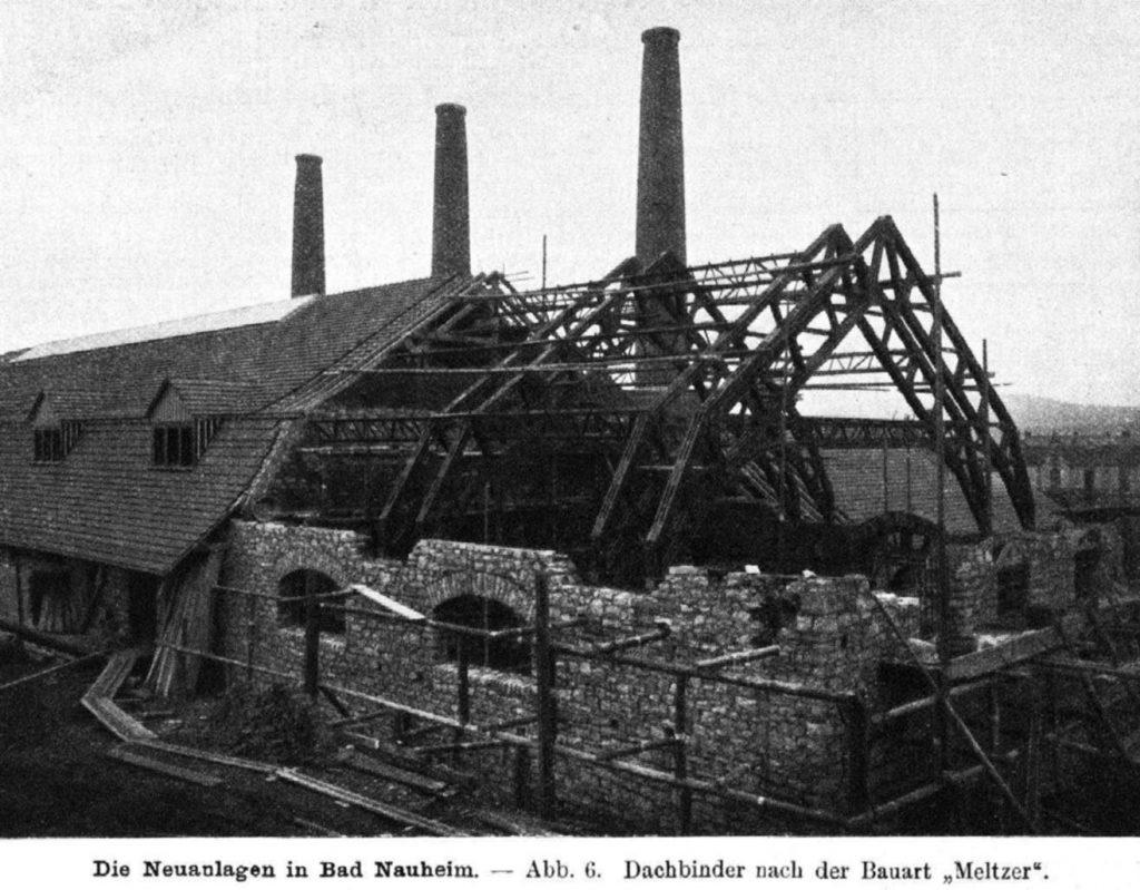 Dachstuhl neu Saline Bad Nauheim