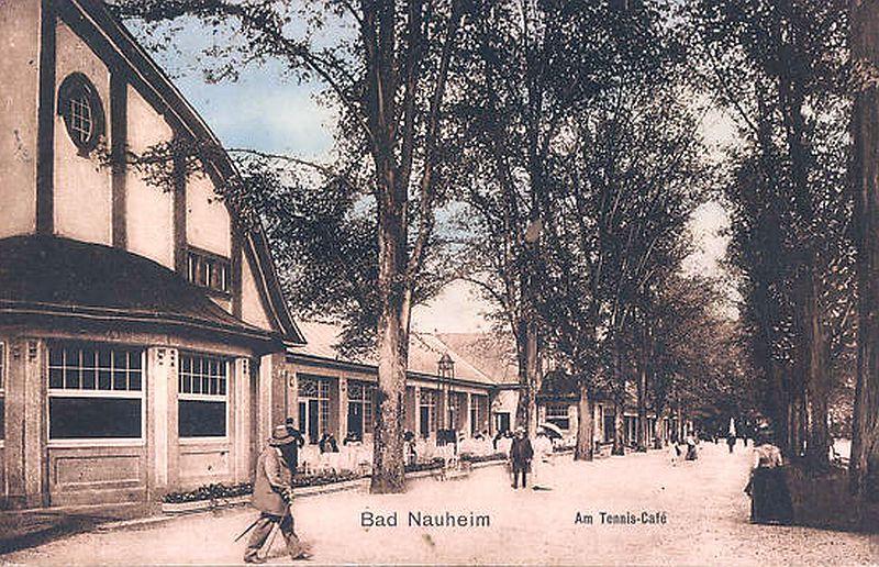 Kolonnaden Bad Nauheim mit Tennis-Café