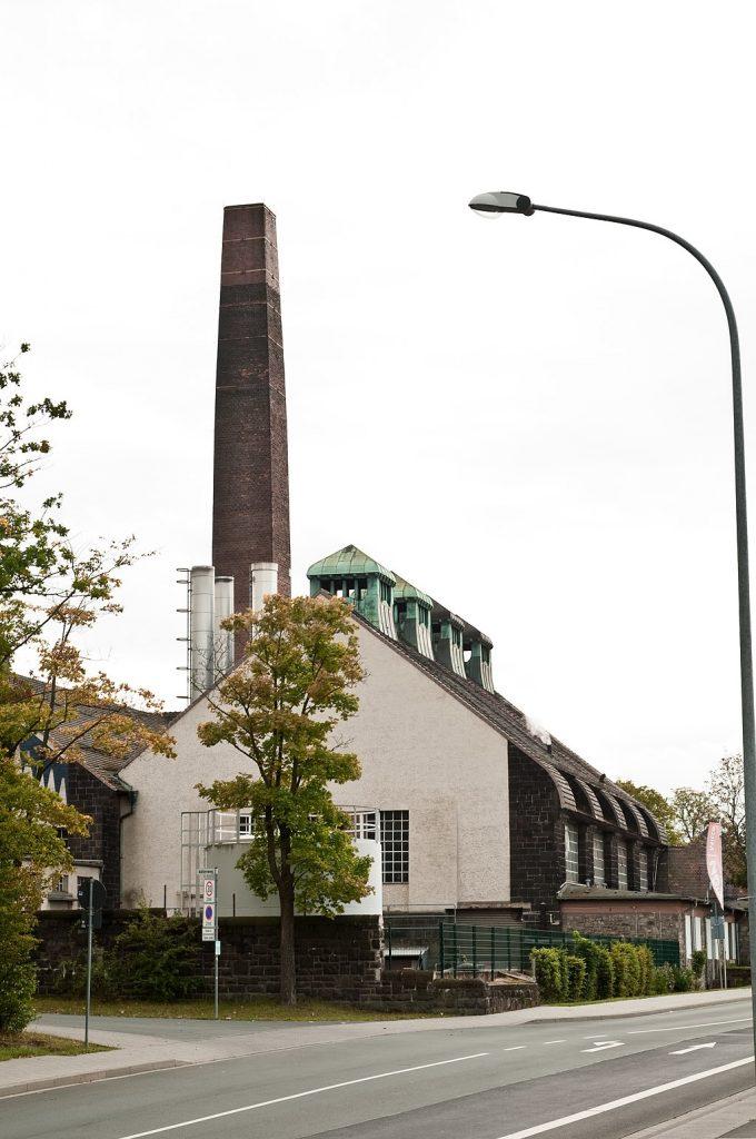 Maschinenzentrale Bad Nauheim - technische Gebäude
