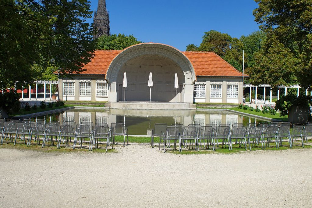 Musikmuschel Trinkkuranlage Bad Nauheim