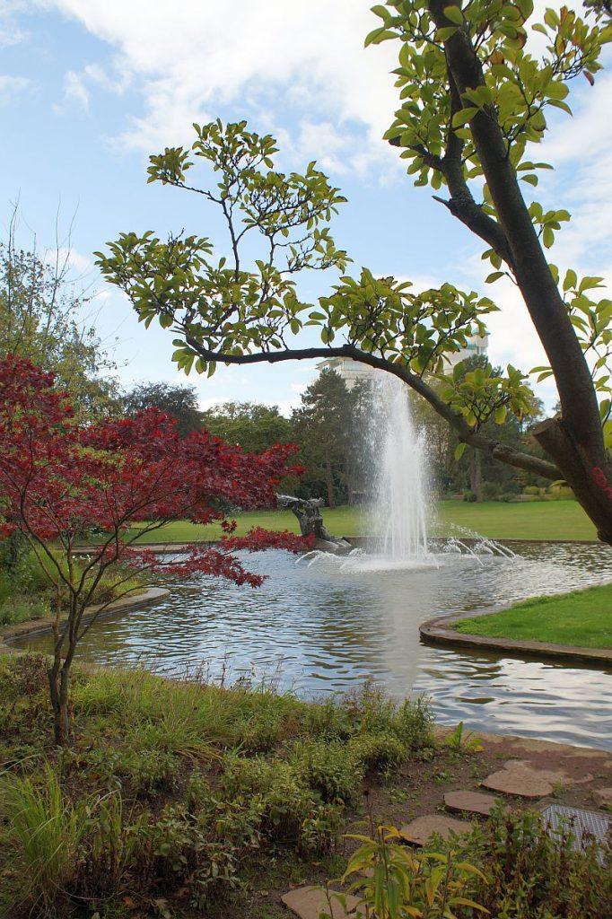 Triton-Brunnen Südpark Bad Nauheim