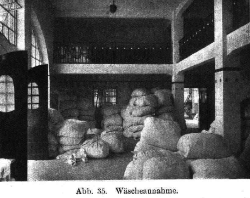 Wäscheannahme Dampfwaschanstalt Bad Nauheim