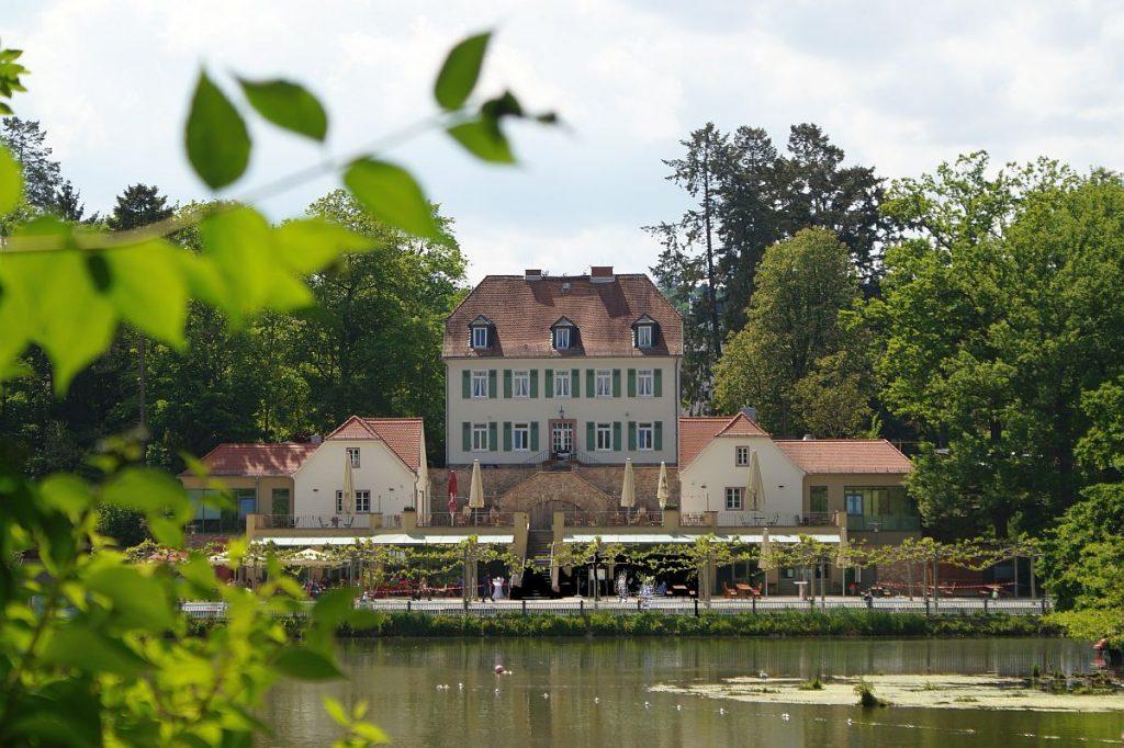 Teichhaus am Großen Teich Bad Nauheim