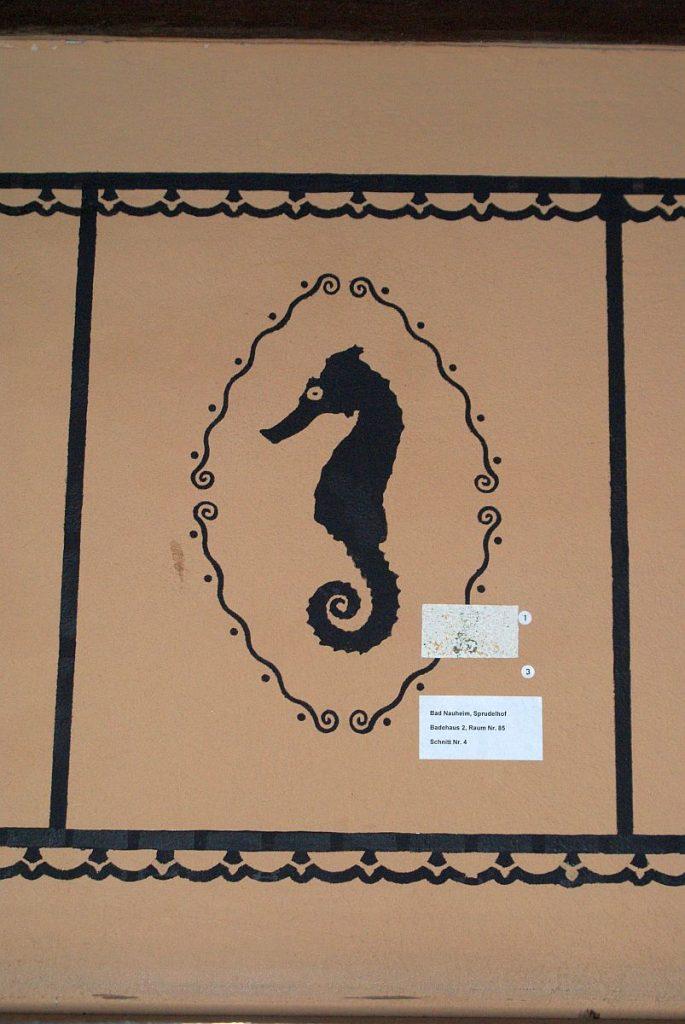 Seepferdchen Dekoration Fürstenbad Bad Nauheim