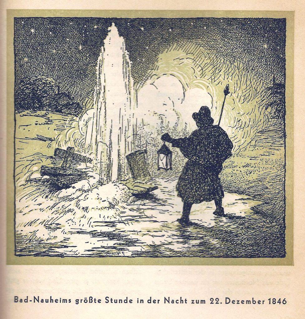 """Das Weihnachtswunder von Bad Nauheim und die Geburt des """"Großen Sprudel"""""""