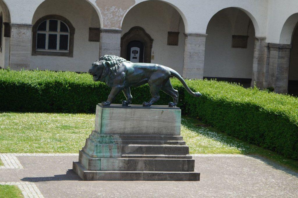 Hessischer Löwe Sprudelhof Bad Nauheim